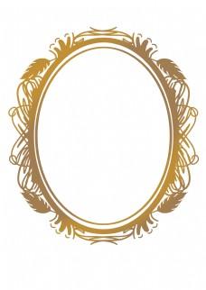 古典花纹边框相框