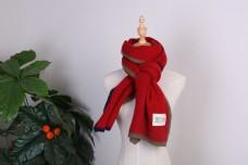 时尚韩版羊毛羊绒围巾3