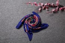 春秋多彩棉麻围巾方巾18