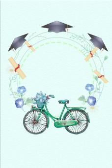 青春毕业季学校毕业海报设计