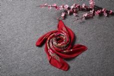 春秋多彩棉麻围巾方巾14