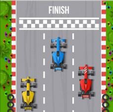 矢量F1赛车