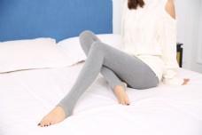 韩版女士灰色打底袜裤25