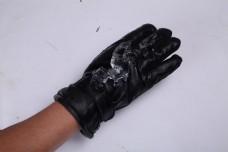 韩版男士皮手套冬季触屏手套5