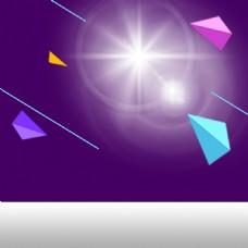 光效几何家电数码促销PSD分层主图背景