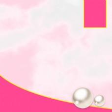 淘宝简约美妆护肤浅粉色PSD主图背景素材
