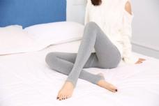 韩版女士灰色打底袜裤21