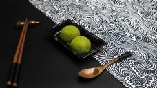 日式料理系列之抹茶糕点