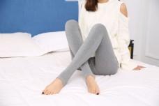 韩版女士灰色打底袜裤28