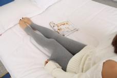 韩版女士灰色打底袜裤17