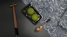 日式料理之抹茶糕点1