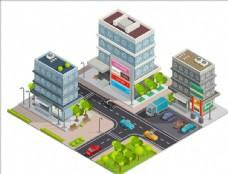 城市建筑街景