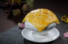 酥皮玉米虾汤