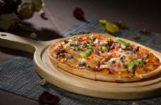 美式牛肉培根披萨