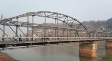 兰州黄河中山桥初春实拍视频