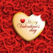 情人节爱心玫瑰