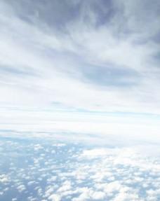 自然天空蓝天白云