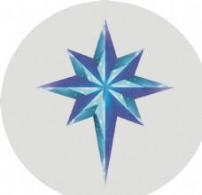 立体星星矢量图