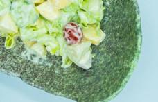 蔬菜水果沙拉特写