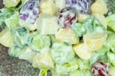 水果蔬菜沙拉美食