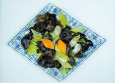 木耳炒青瓜美食图片