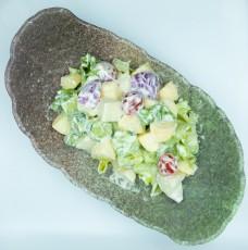 沙拉拌水果蔬菜美食