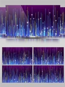 4K炫彩粒子光线飞升大气led舞台背景