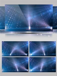 科技舞台闪灯led背景大气特效背景
