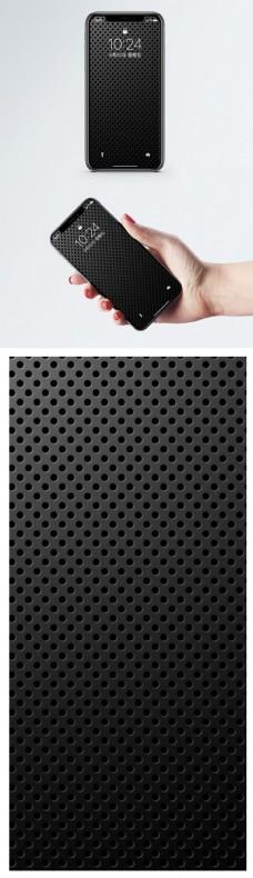 黑色手机壁纸