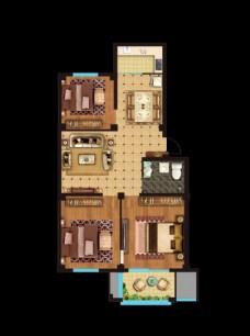 房地产 户型图