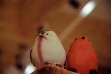室内小鸟雕塑装饰