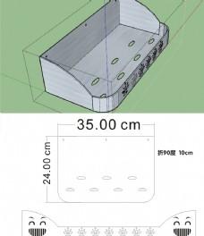 卫生间置物架 不锈钢图纸