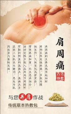 中医肩周炎宣传展板