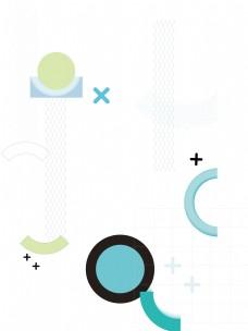 孟菲斯几何元素PNG免抠素材下载