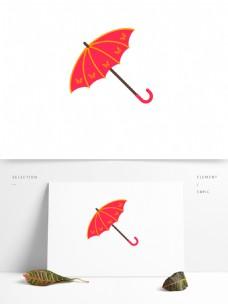 雨伞遮阳伞红色吉祥方便