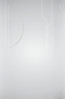 银色科技纹路背景