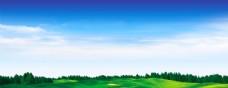 蓝天 白云 大草原