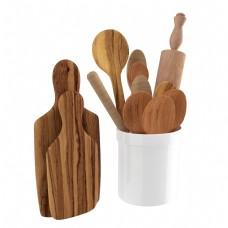 原木勺子砧板厨房工具