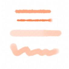 橘色水彩纹路底纹
