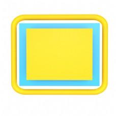 电商C4D立体商品边框