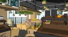 蔬果超市设计