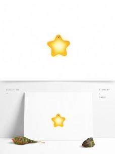 卡通梦幻星星灯设计元素