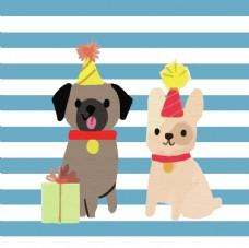 狗狗卡通形象