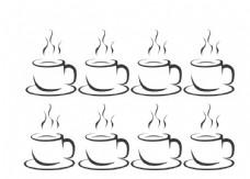 矢量咖啡杯