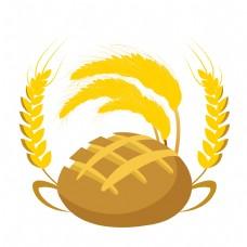 黄色面包麦穗插图