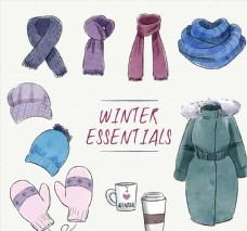 10款时尚冬季配饰和羽绒服