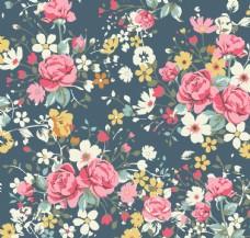 大气花朵家纺平铺图