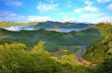 湖州 助力县 山间 景观