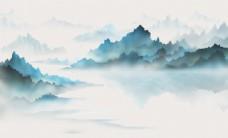 新中式装饰背景墙