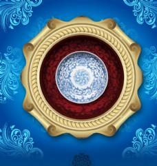 古典花纹装饰画